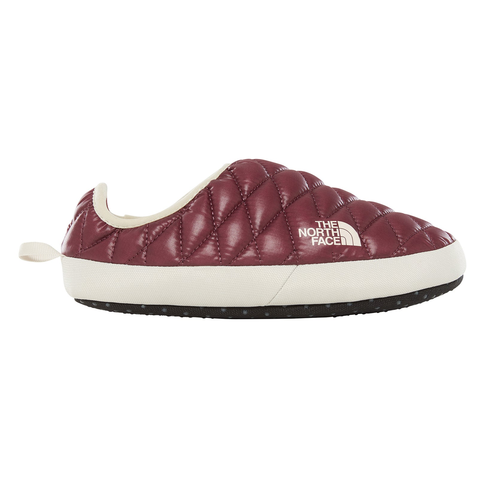 North Face Thermoball Tent Mule IV Womens Slippers - Shiny Fig Vintage White