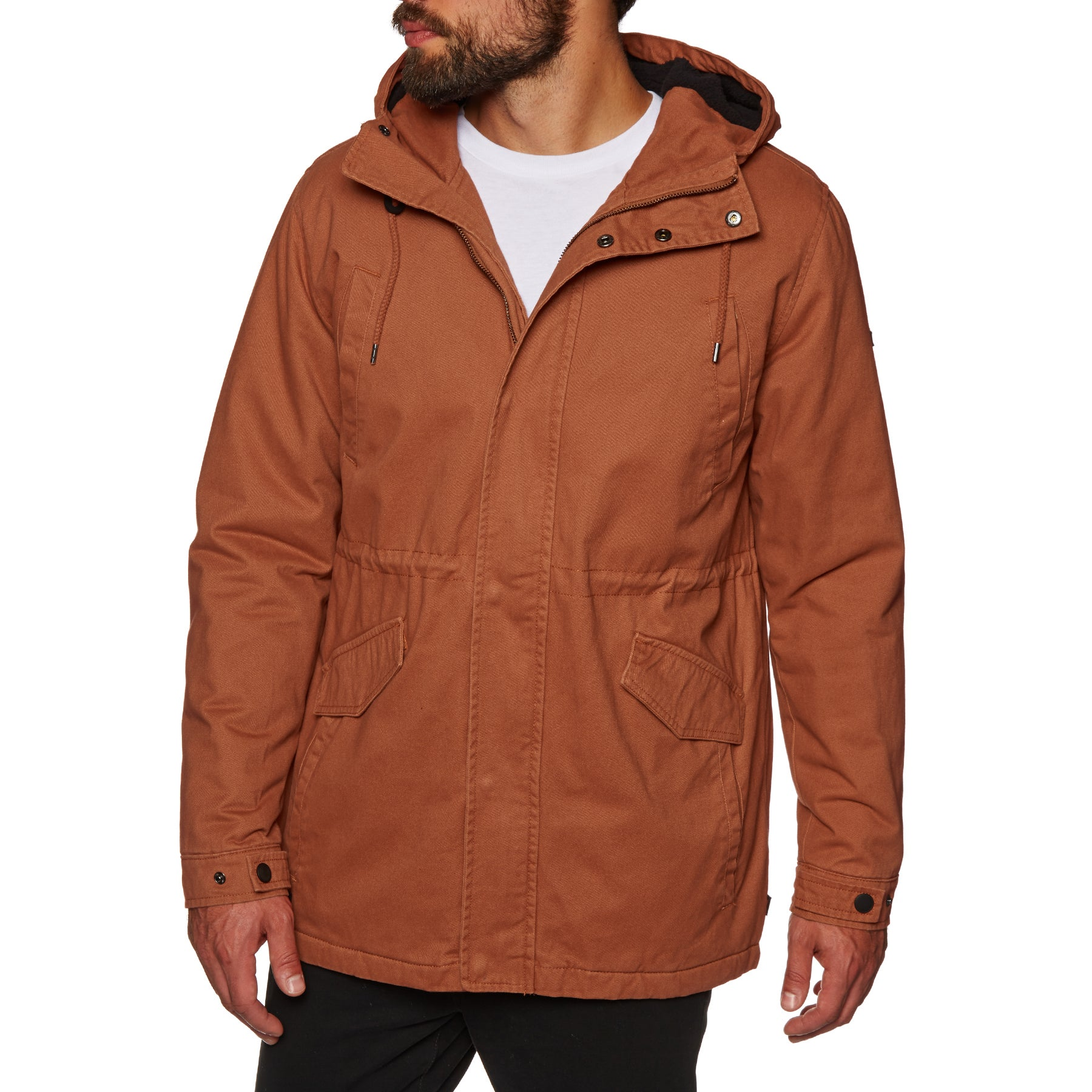 Globe Goodstock Thermal Fishtail Jacket - Ginger