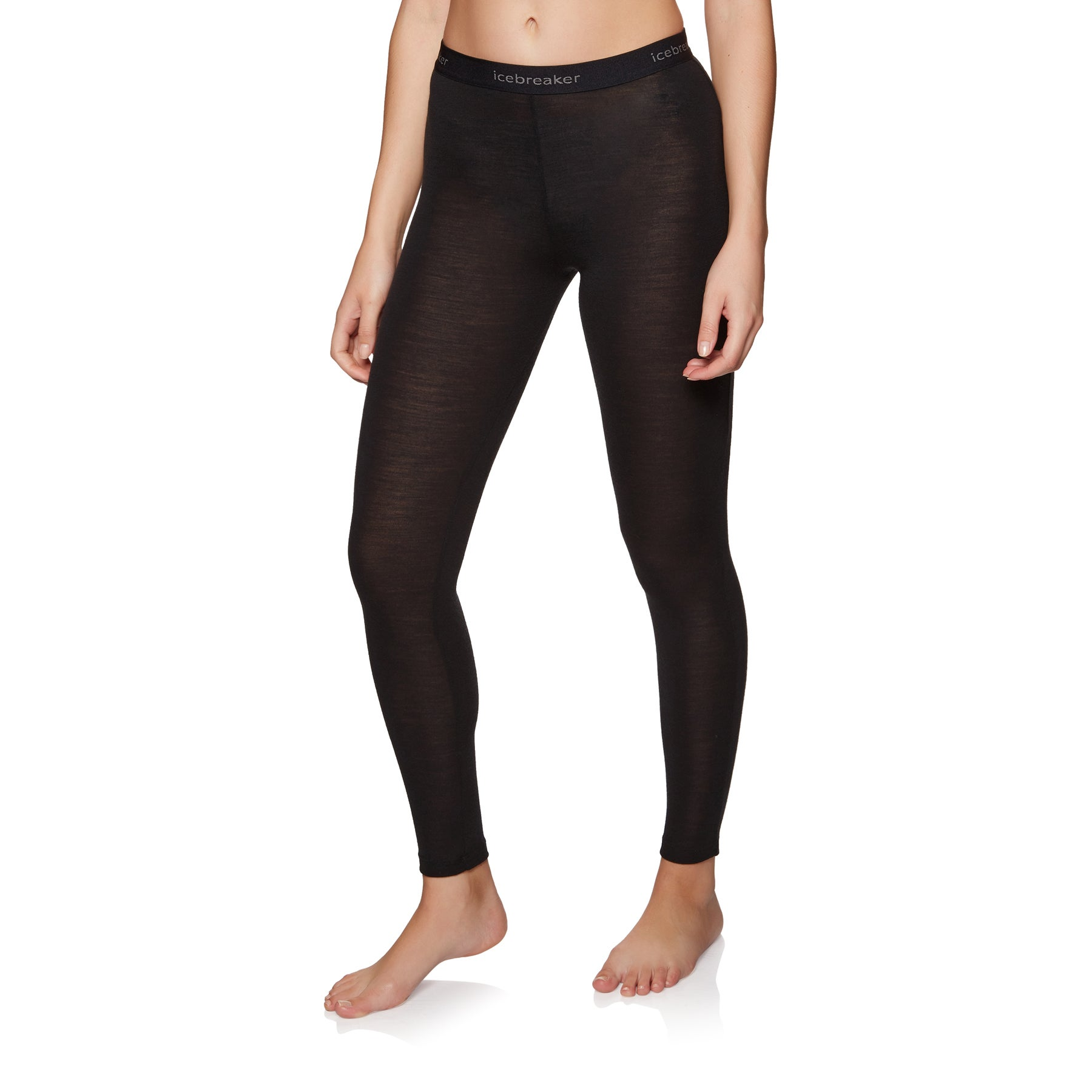 Polainas de base interior Mujer Icebreaker Wmns 175 Everyday Leggings - Black
