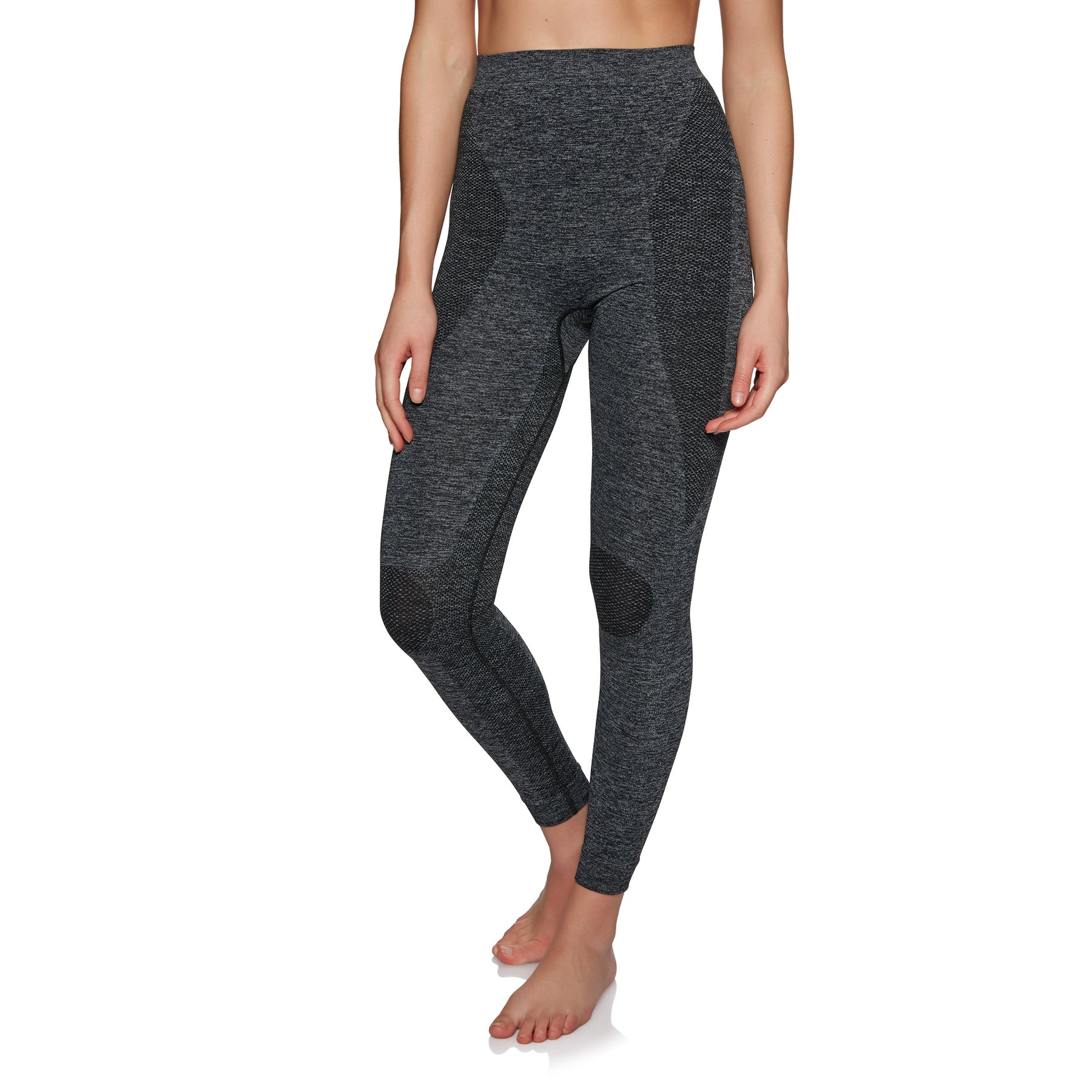 Protest Casey Thermo Pants Womens Base Layer Leggings - Dark Grey Melee