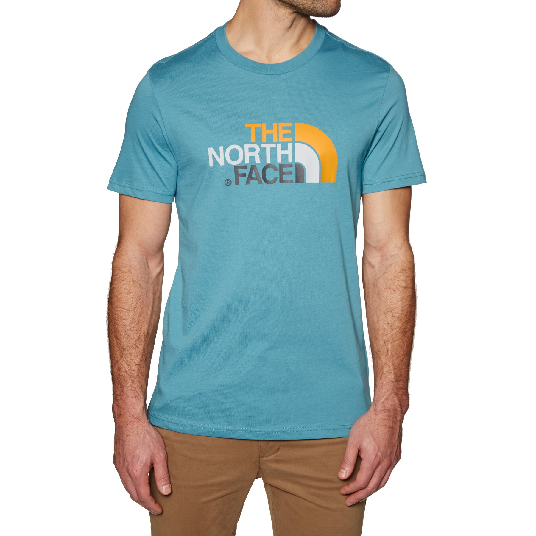 North Face Easy Short Sleeve T-Shirt - Storm Blue