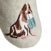 Joules Slippets Mules With Applique Womens Slippers