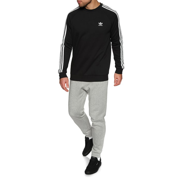 Adidas Originals 3 Stripes Crew Sweater