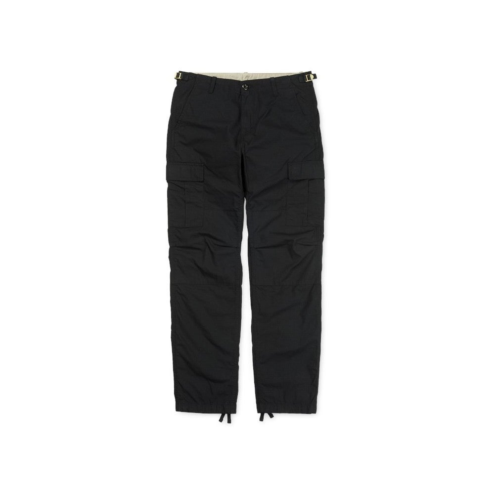 Pantalon Cargo Carhartt Aviation - Black Rinsed