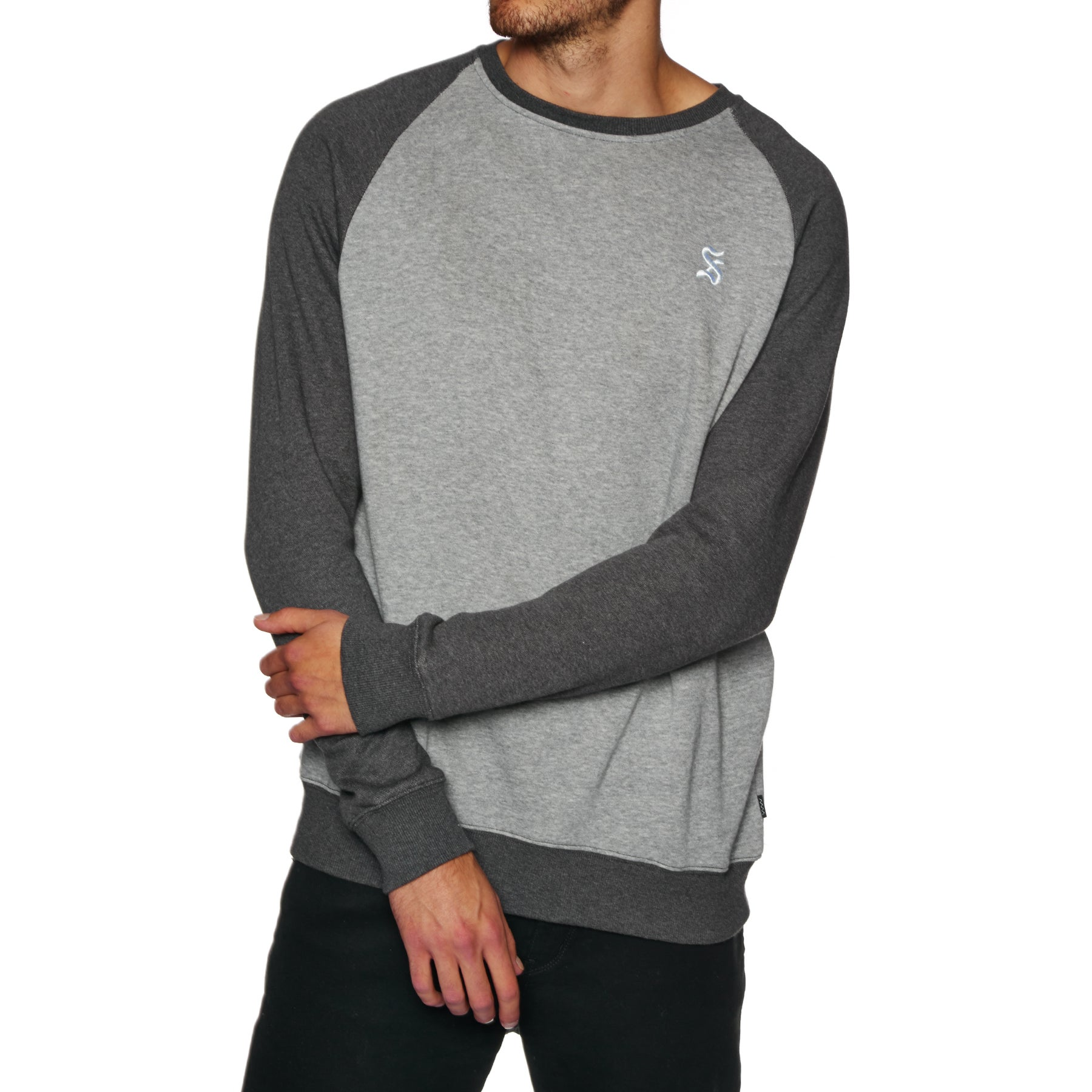 Sudadera SWELL Symetry Crew - Grey Marle