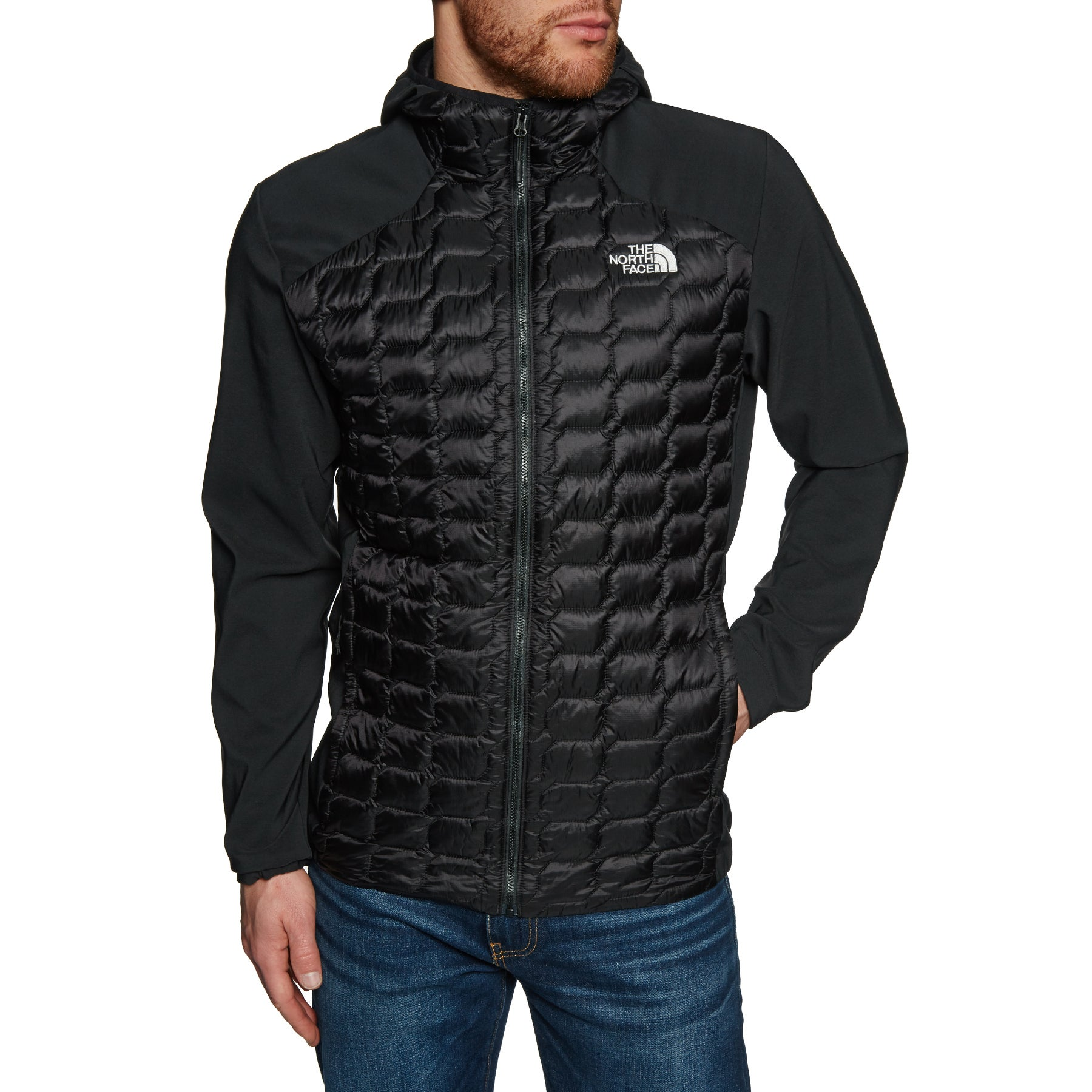 38e74a9cc190 North Face Thermoball Hybrid Hoodie Jacket available from Surfdome