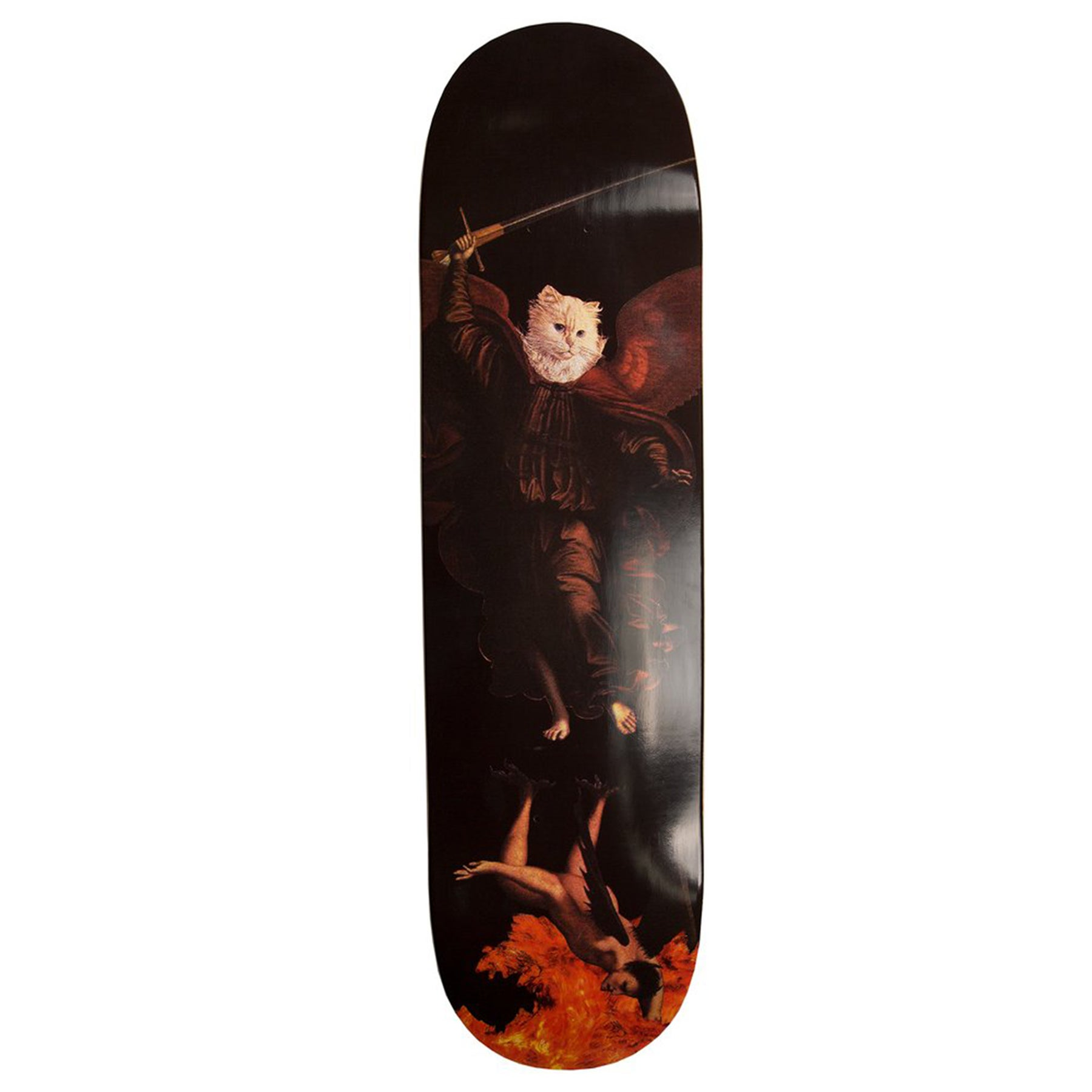 Planche de Skateboard Rip N Dip Hell Pit Various Sizes - Black