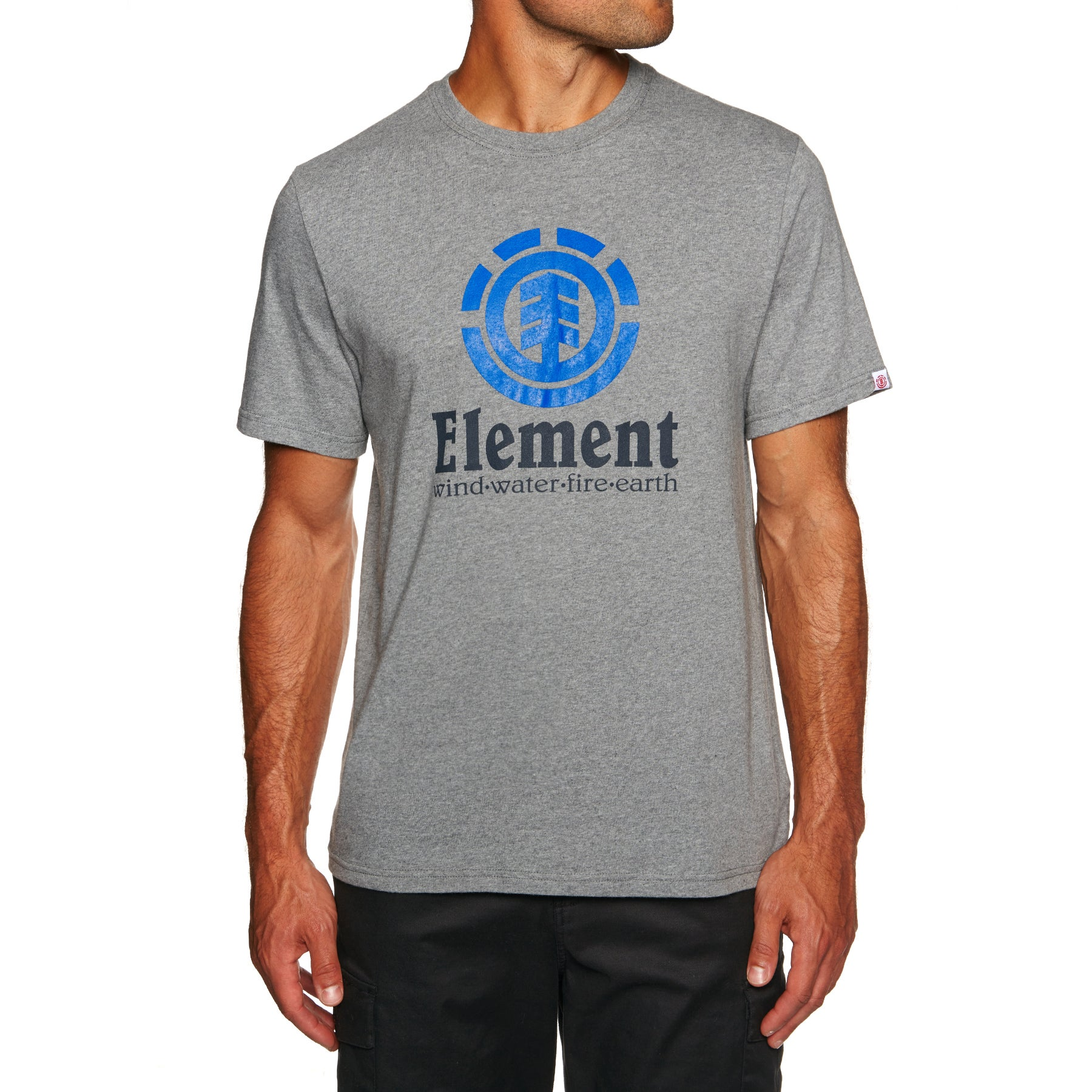 Element Vertical Short Sleeve T-Shirt - Grey Heather