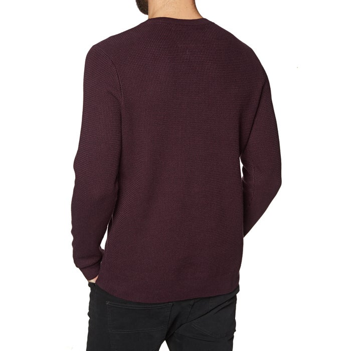 Knits Superdry Academy Textured Crew