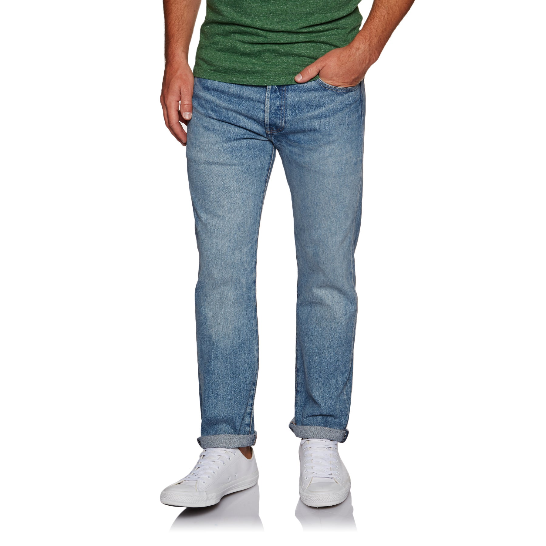 Levis 501 Jeans - Bay Water