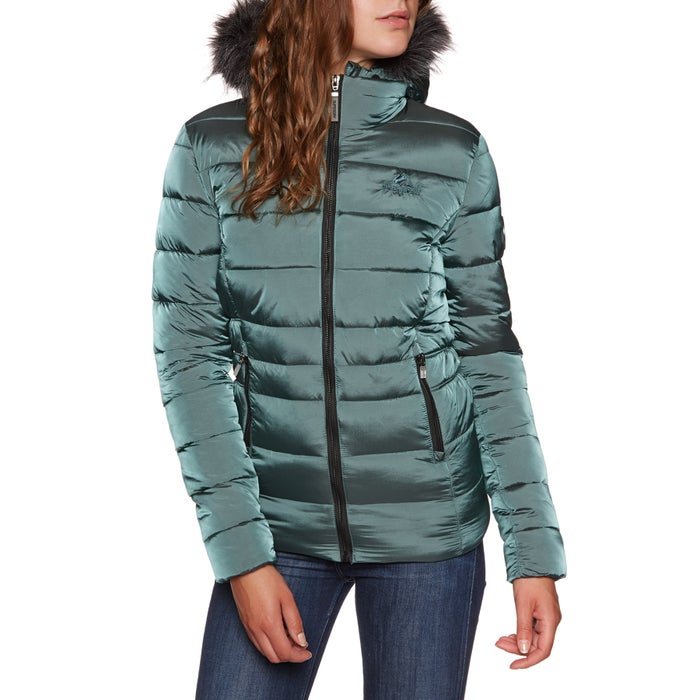 Superdry Taiko Padded Faux Fur Womens Jacket