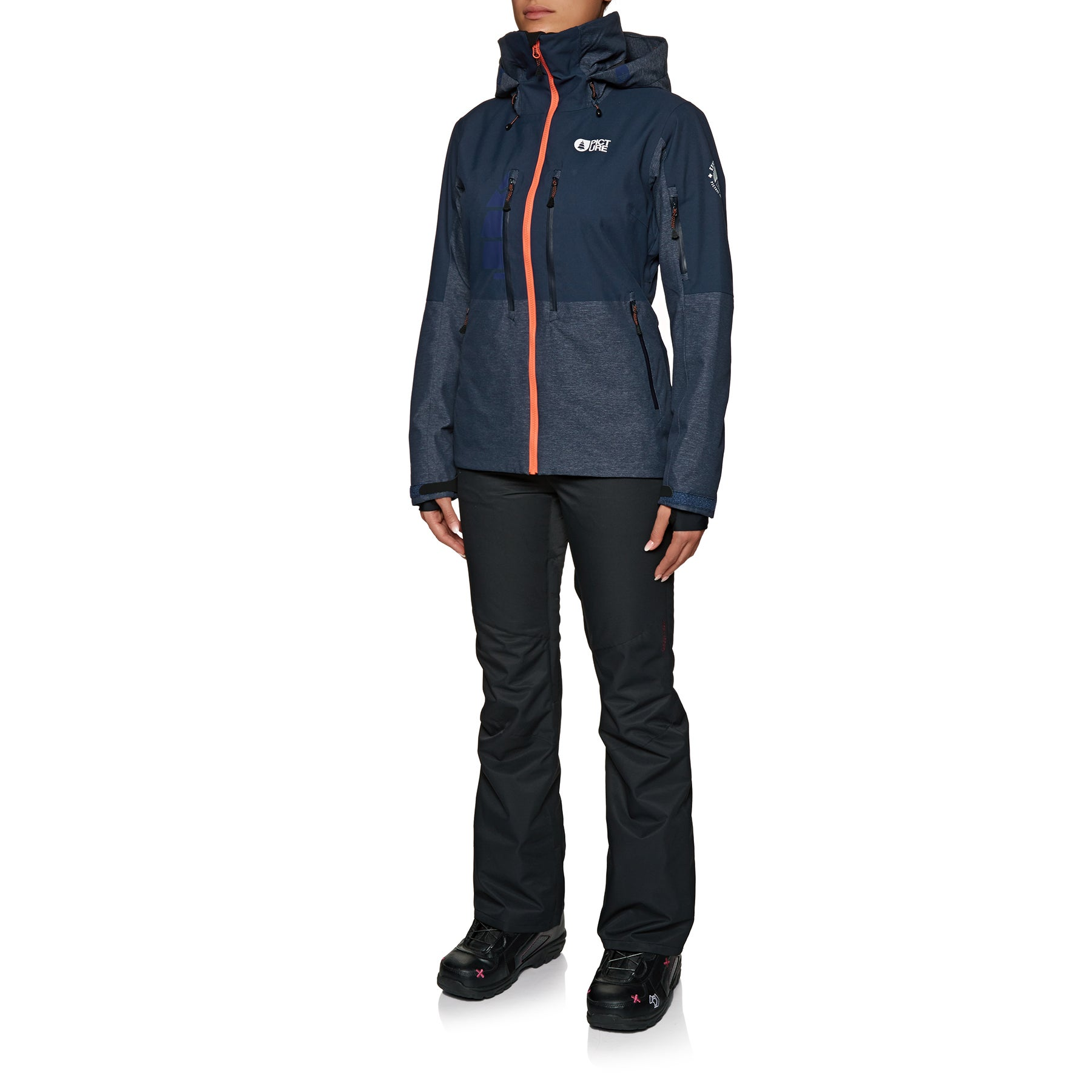 Picture Organic Signe Womens Jacket - Dark Blue