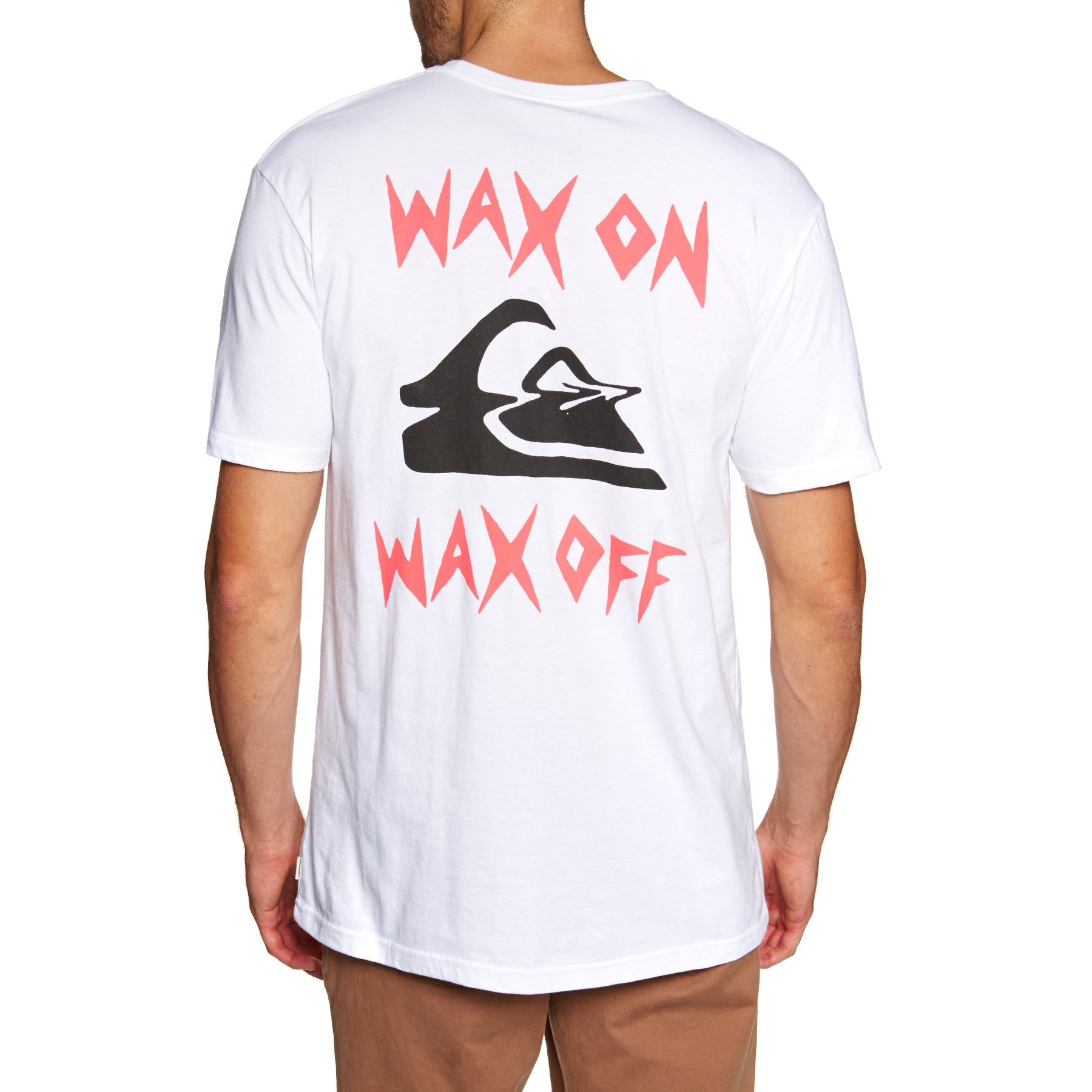 a68ee7e0200e Quiksilver Wax Job Short Sleeve T-Shirt available from Surfdome