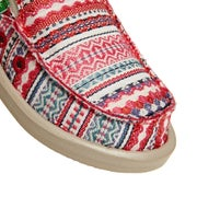 Sanuk Y Lil Donna Blanket Kids Slip On Shoes