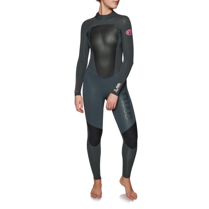 Animal Womens Lava 5/4/3mm 2019 Back Zip Womens Wetsuit
