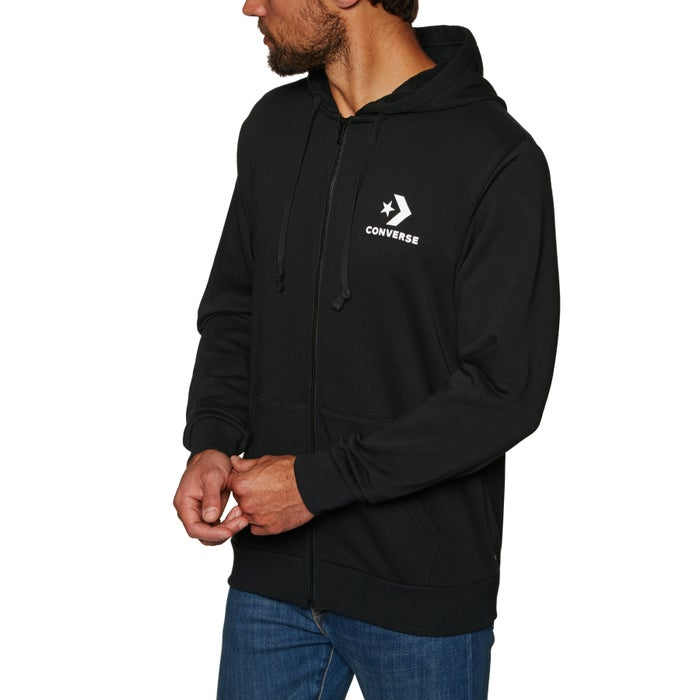 9c8335b9e426 Converse Mens Star Chevron Zip Hoody available from Surfdome