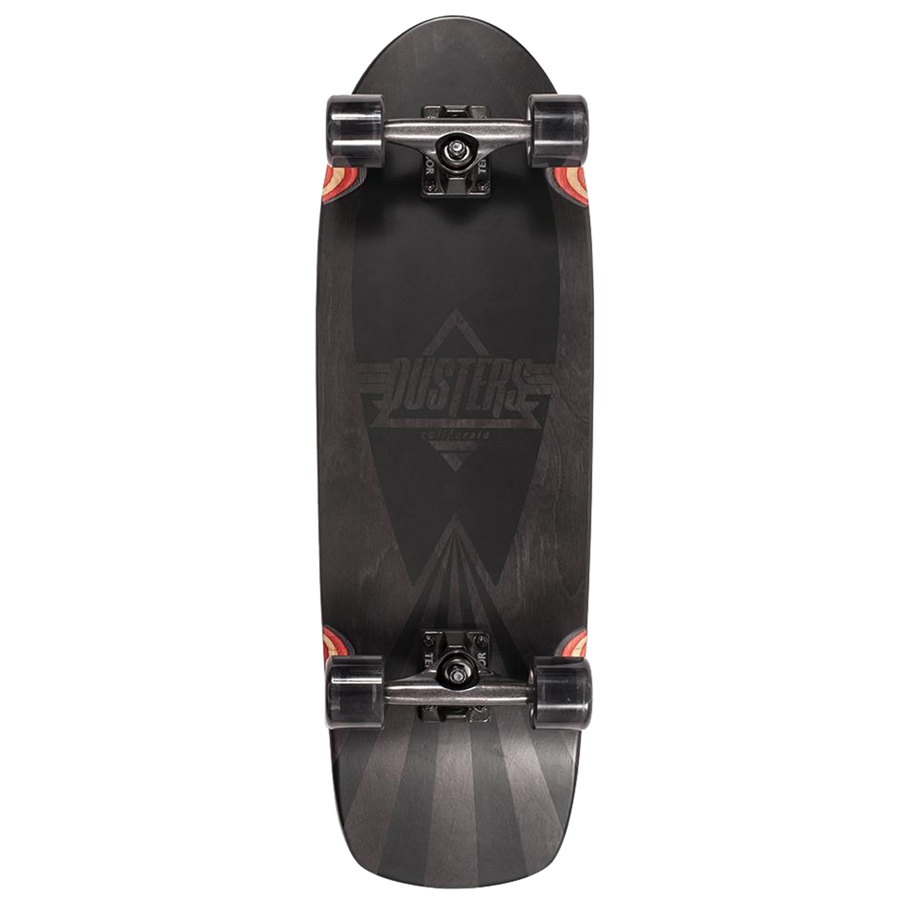 Dusters Cazh Blacked 29.5 Inch Cruiser - Black