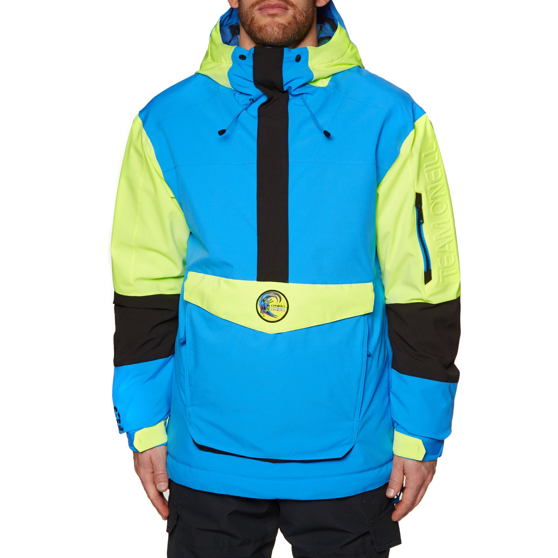 O Neill Frozen Wave Anorak Snow Jacket - 9010 Black Out