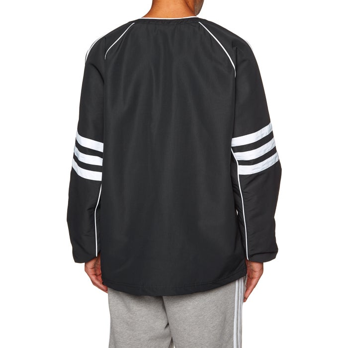 Adidas Originals Auth Woven Tunic Long Sleeve T-Shirt
