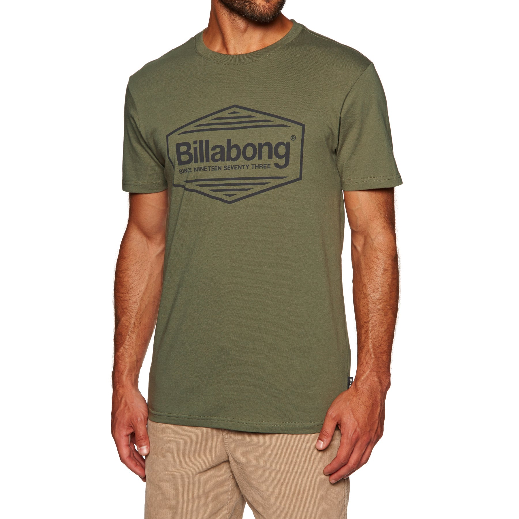 Billabong Pacific Short Sleeve T-Shirt - Lt Military