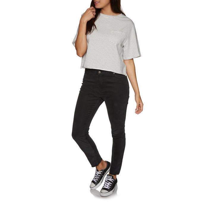 SWELL Gena Cropped Womens Short Sleeve T-Shirt