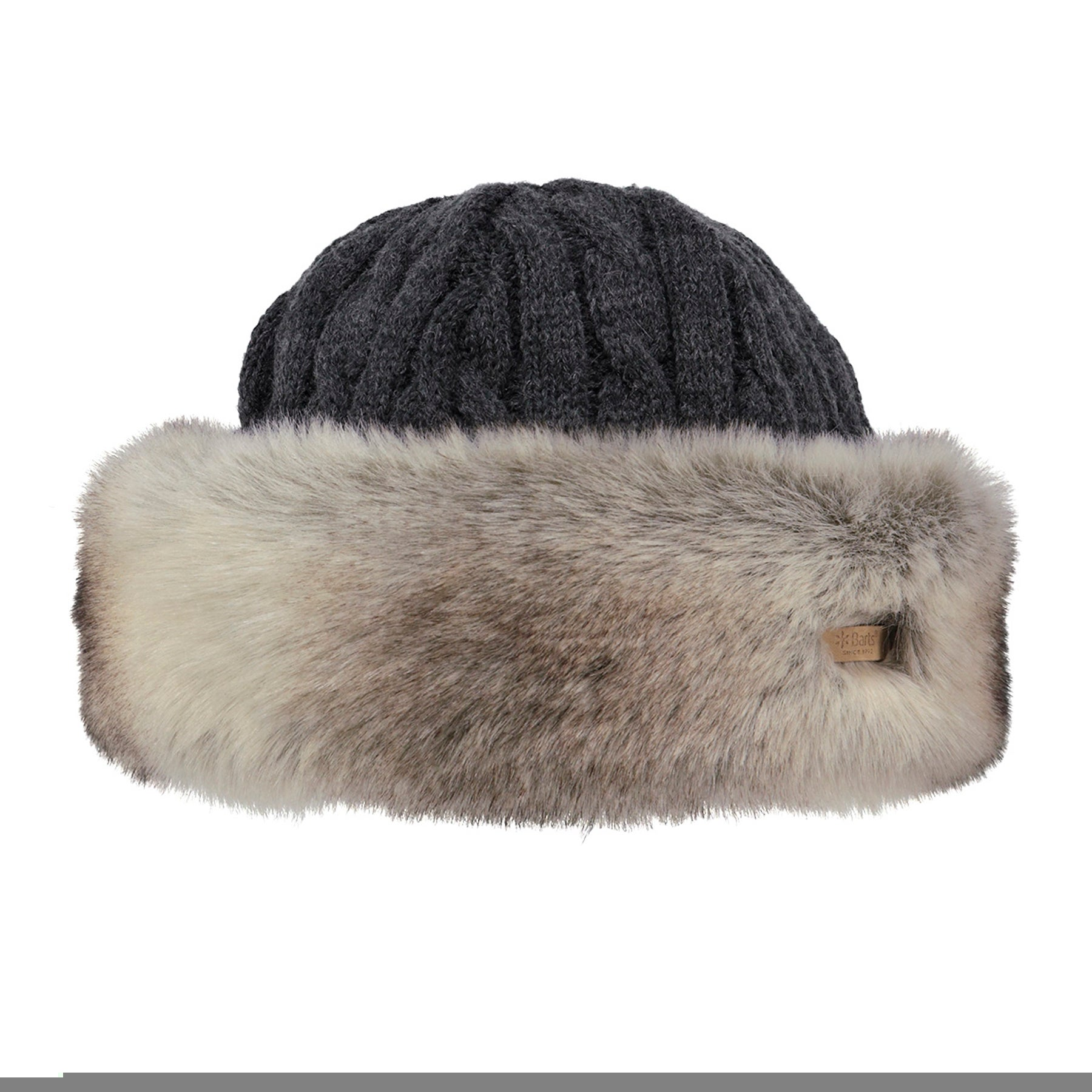 Gorro Senhora Barts Fur Cable Band - Rabbit