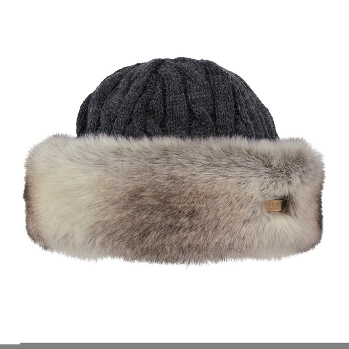 Gorro Senhora Barts Fur Cable Band