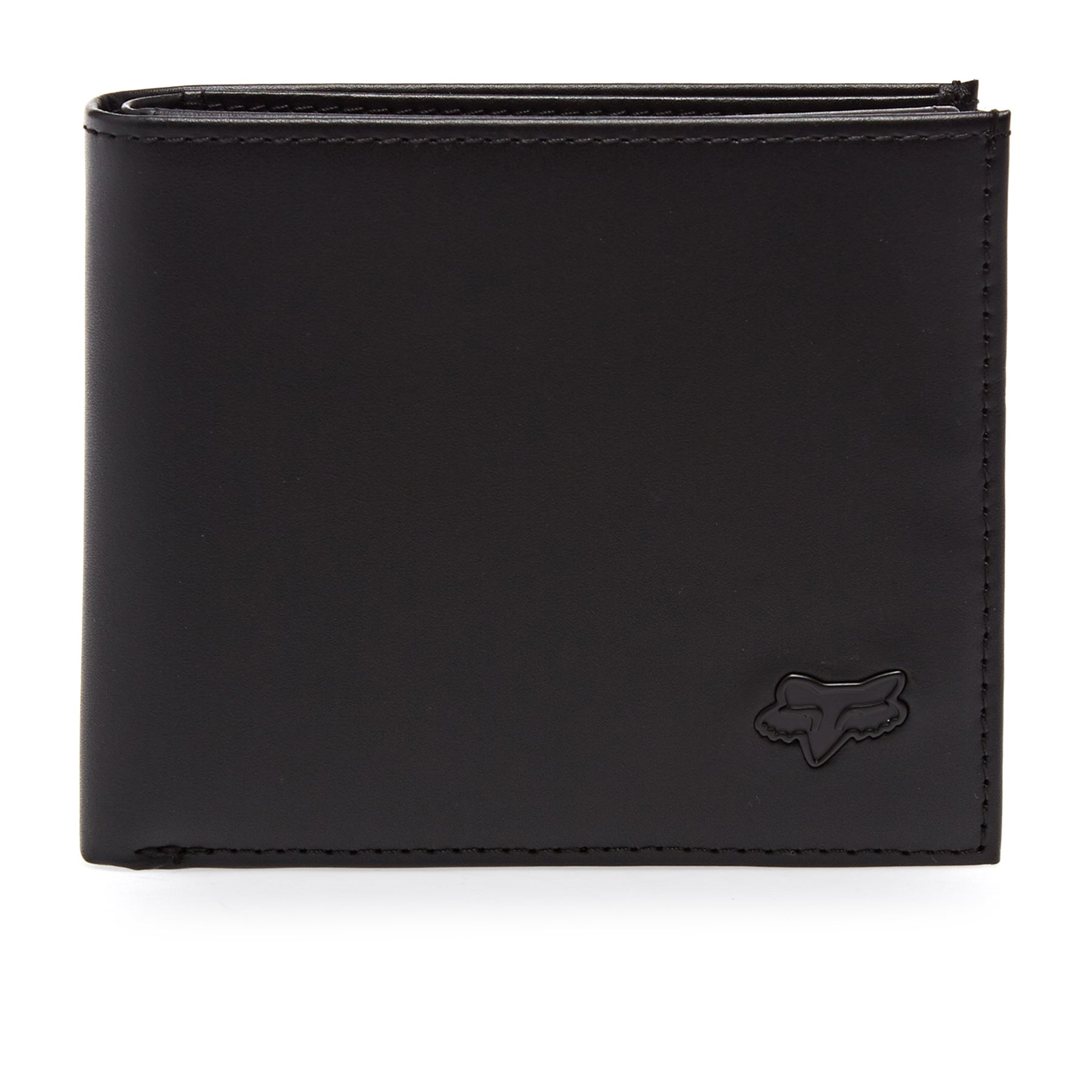 Fox Racing Bifold Leather Wallet - Black