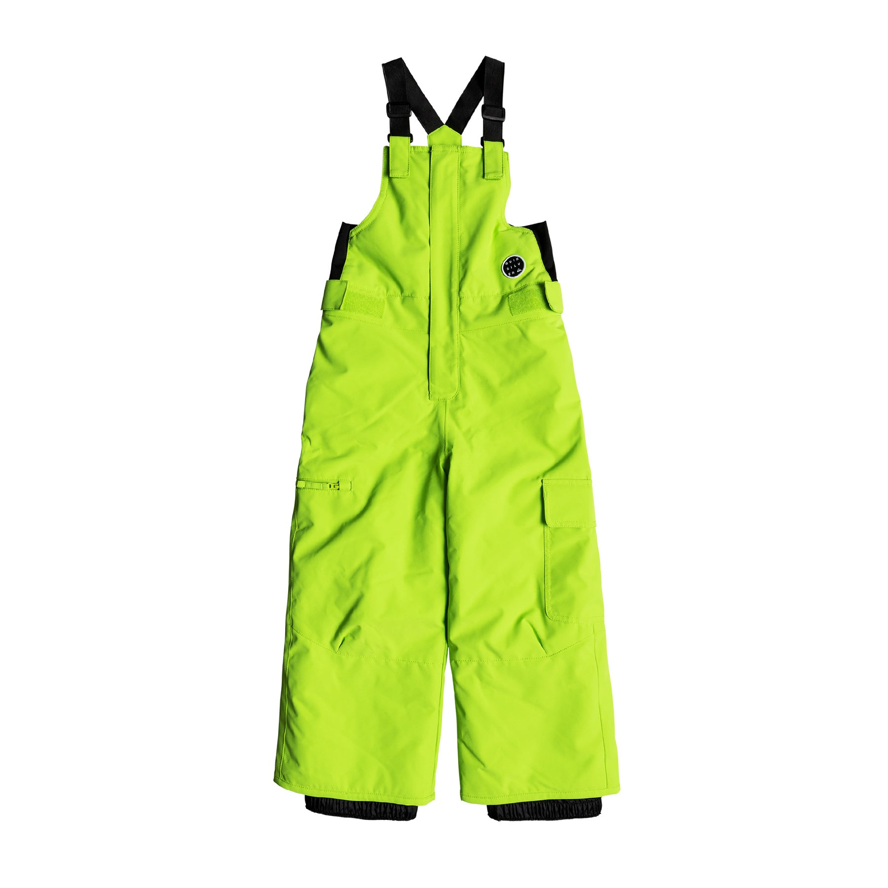 Quiksilver Boogie Kids Kalhoty na snowboard - Lime Green