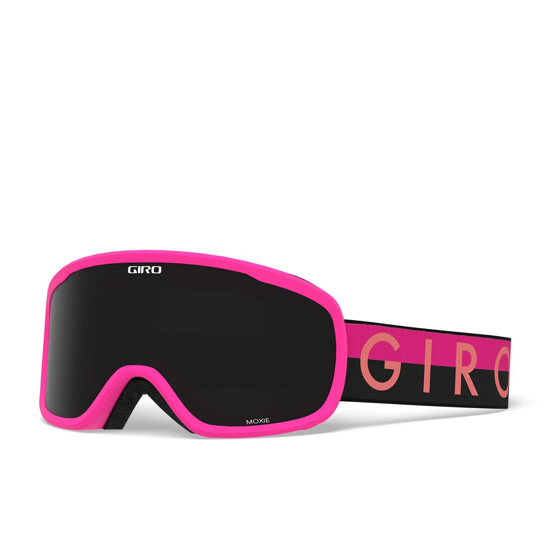 Giro Moxie Womens Snow Goggles - Black Pink Throwback Ultra Black Yellow