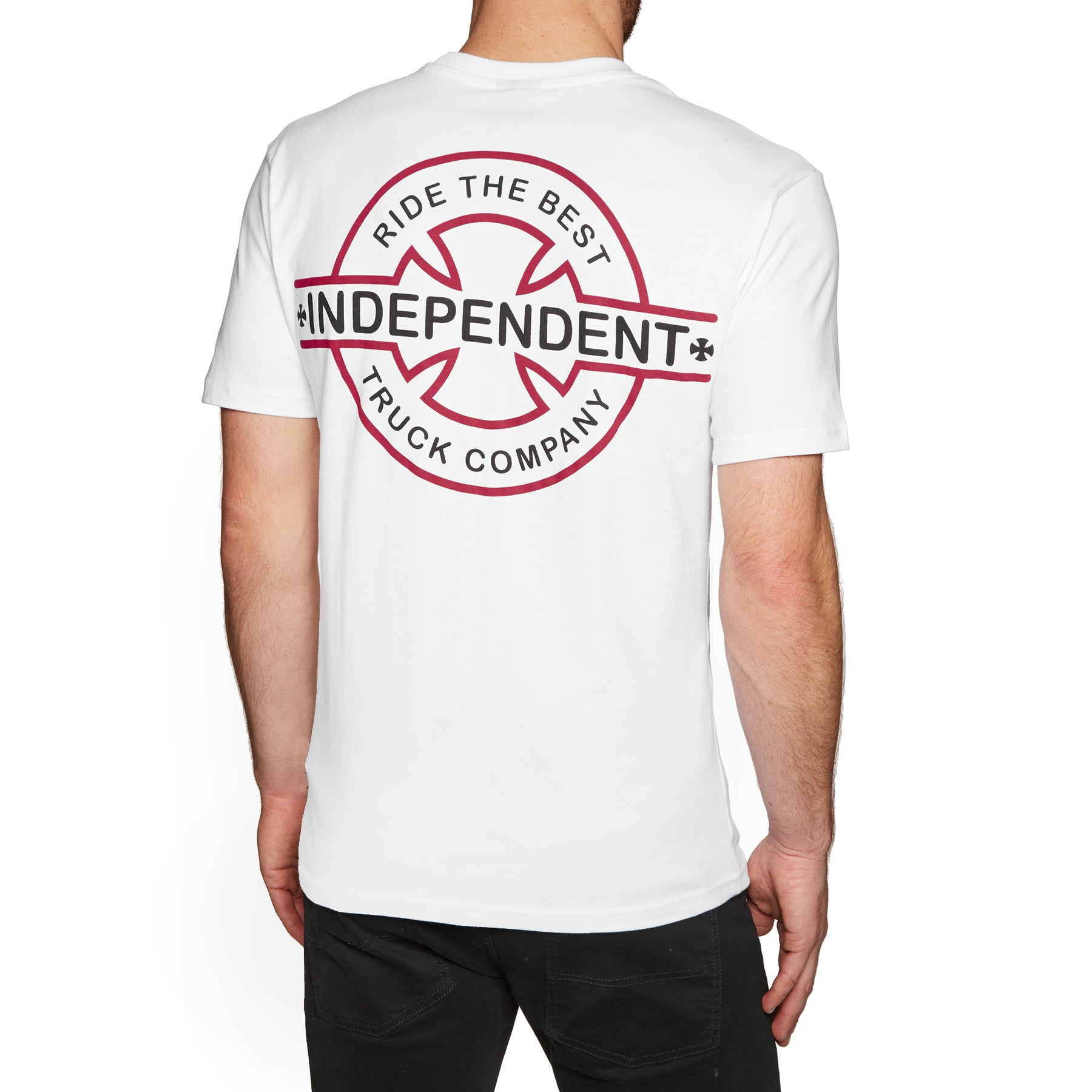 Independent Underground Short Sleeve T-Shirt - White