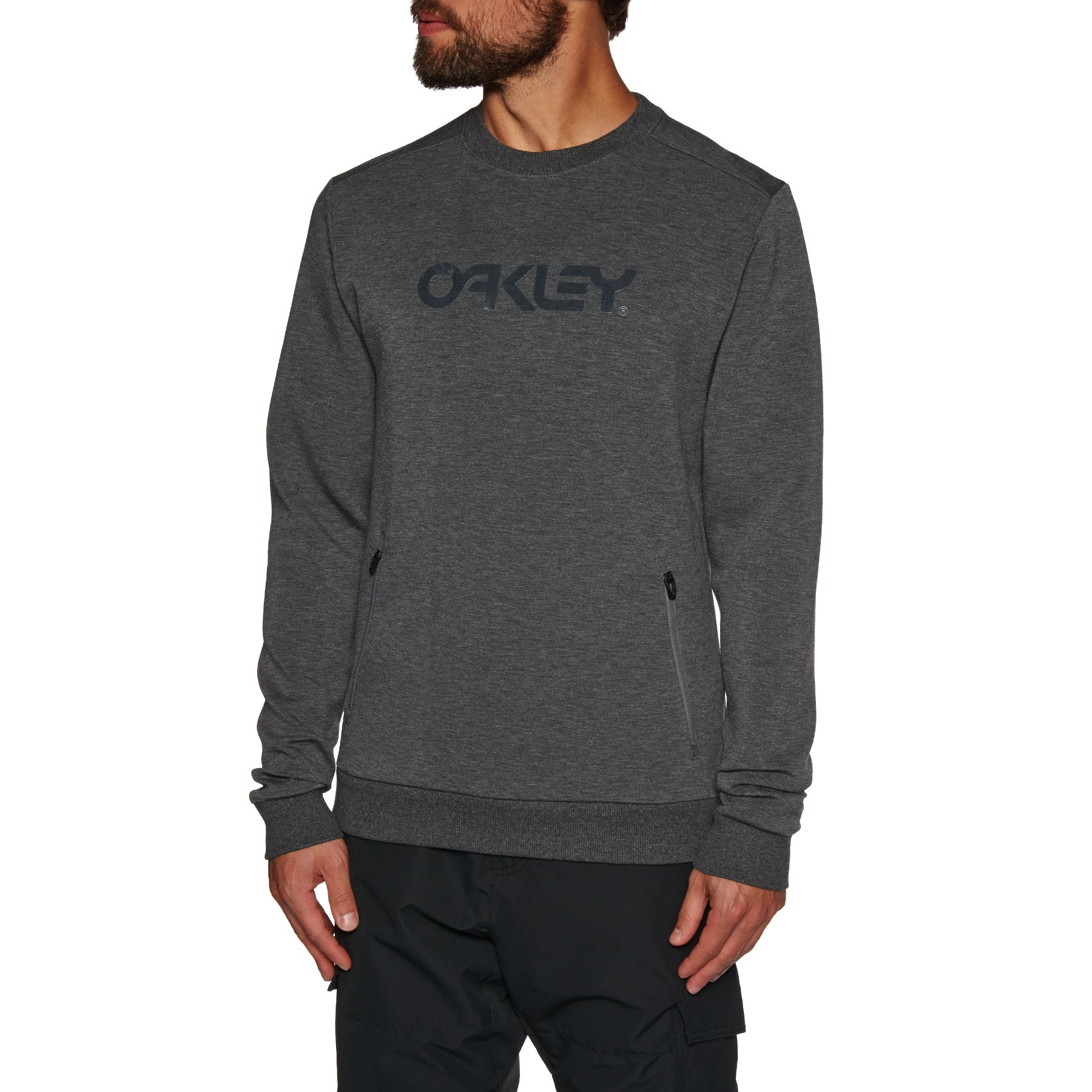 Oakley Crewneck Scuba Fleece Sweater - Forged Iron