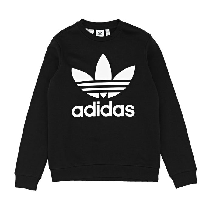56fbef723 Adidas Originals Fleece Crew Kids Sweater - Free Delivery options on All  Orders from Surfdome