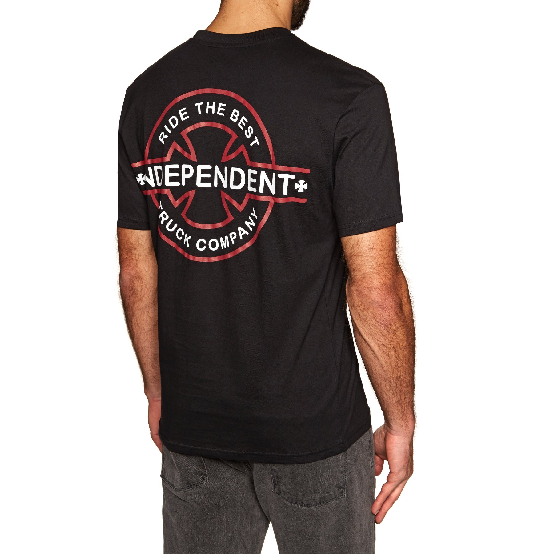 Independent Underground Short Sleeve T-Shirt - Black