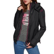 Superdry Arctic Hooded Pop Zip Sd-windcheater Womens Jacket