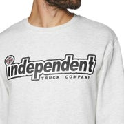 Independent Outline Crew Sweater