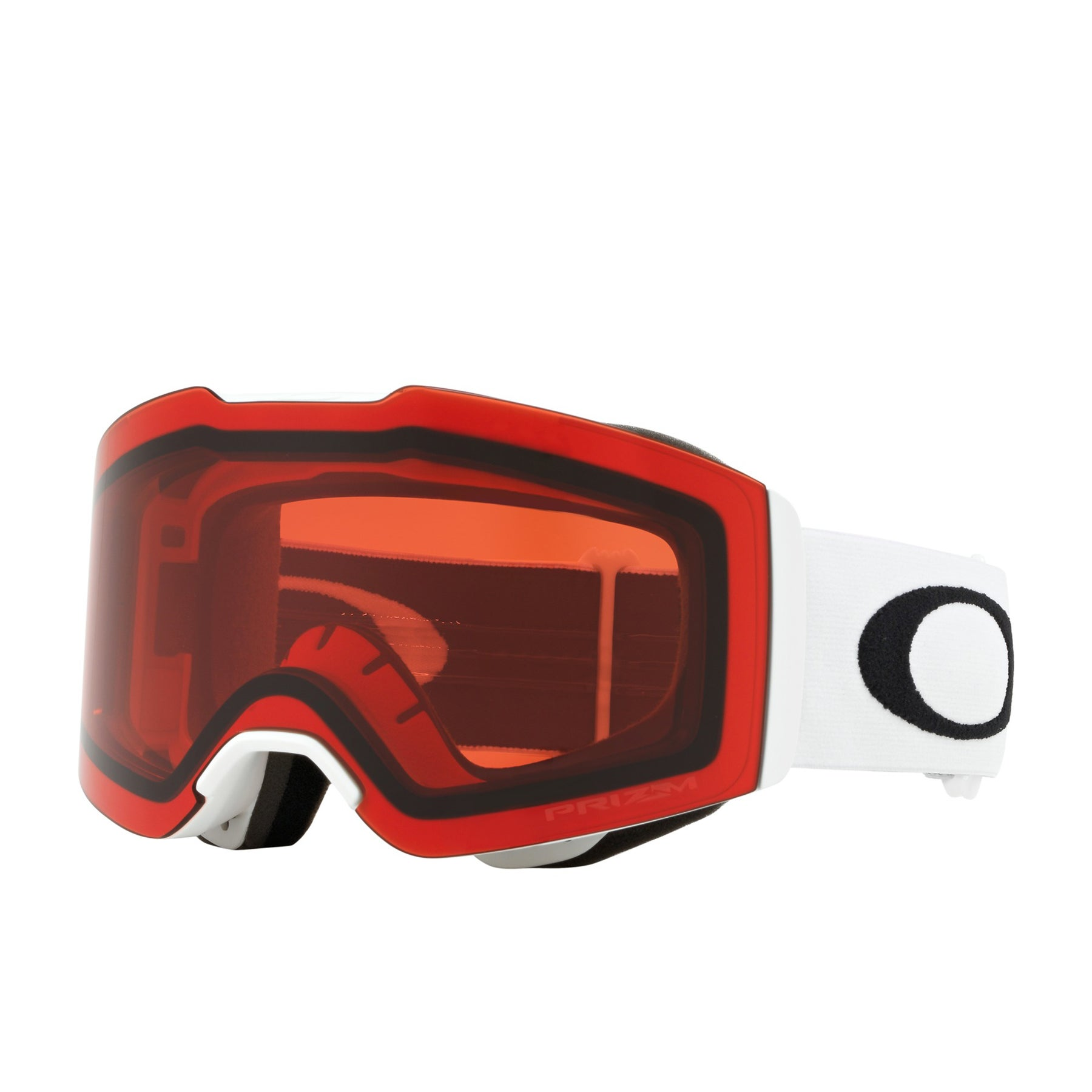 Oakley Fall Line Snow Goggles - Matte White ~ Prizm Snow Rose