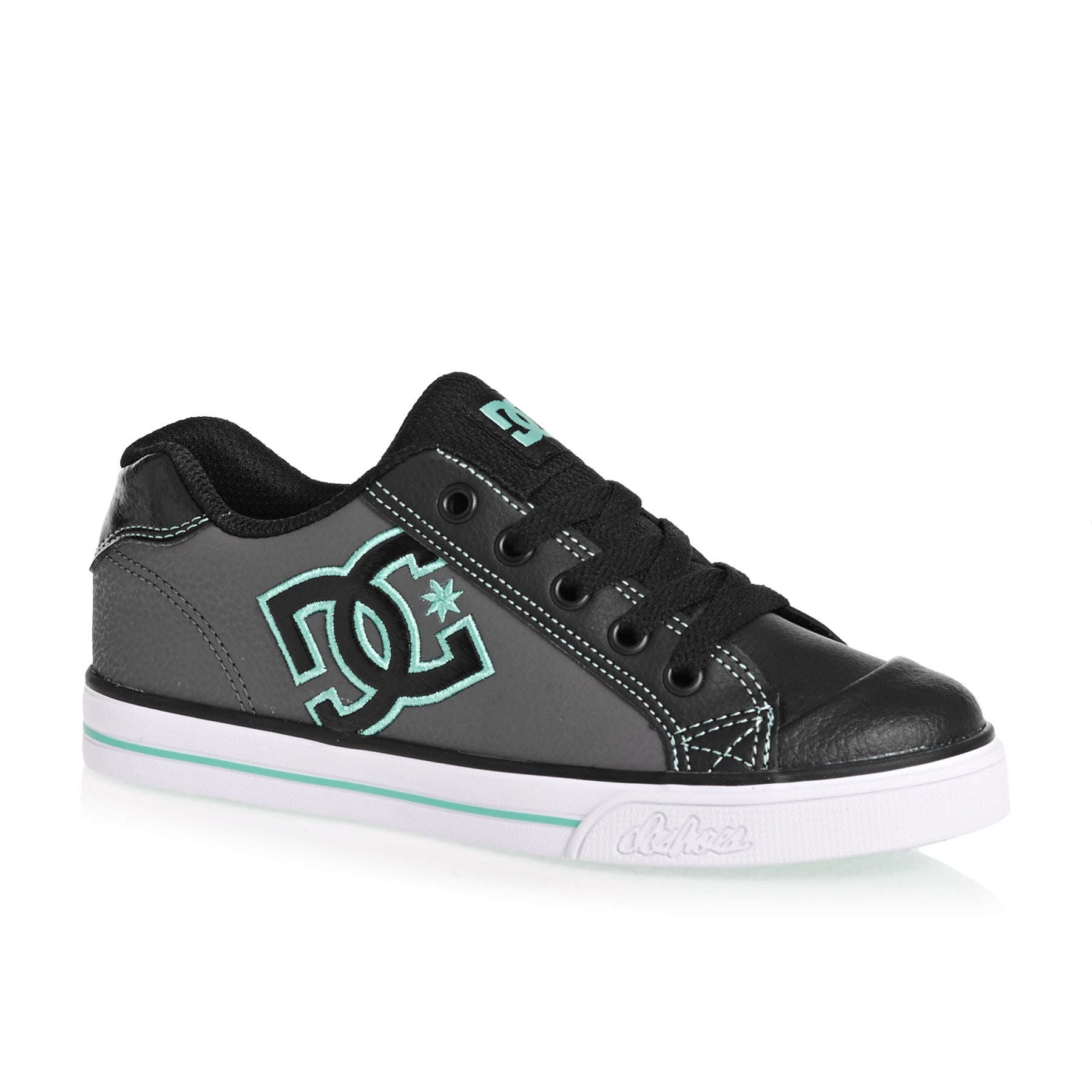 DC Chelsea Girls Shoes - Black Aqua
