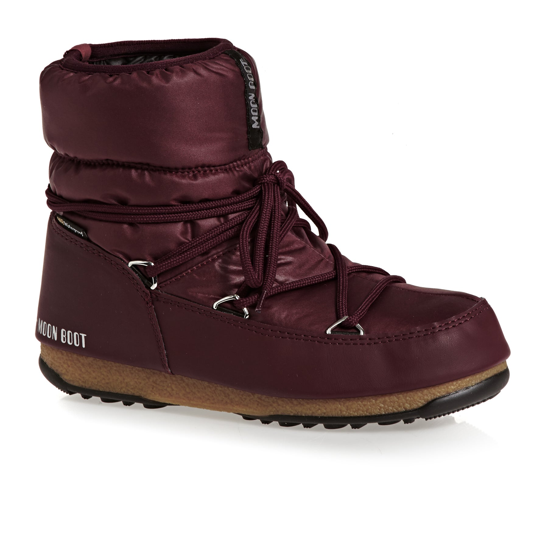Moon Boot Low Nylon WP Womens Boots - Port Royale