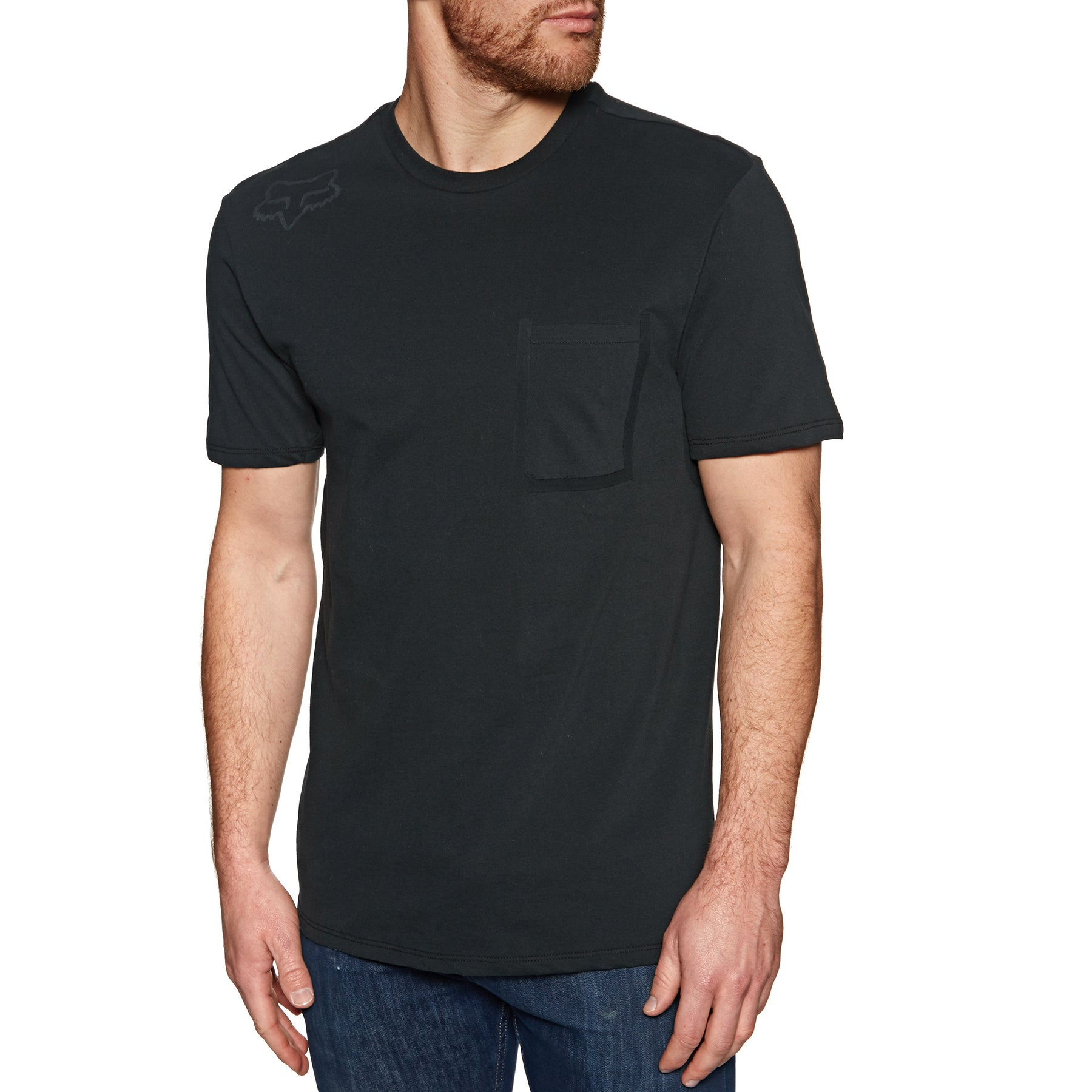 Fox Racing Redplate 360 Airline Mens Short Sleeve T-Shirt Black//Black
