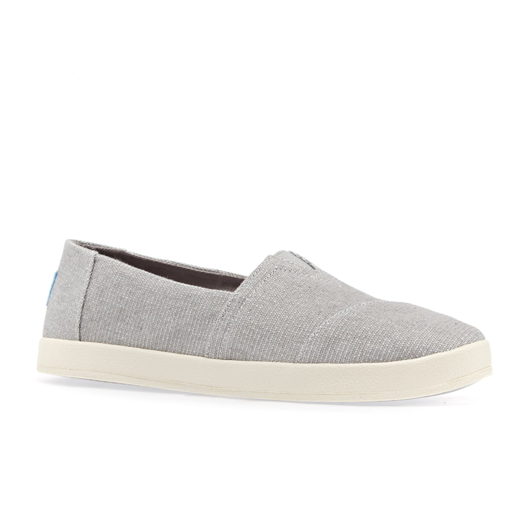 Toms Avalon Womens Slip On Shoes - Grey