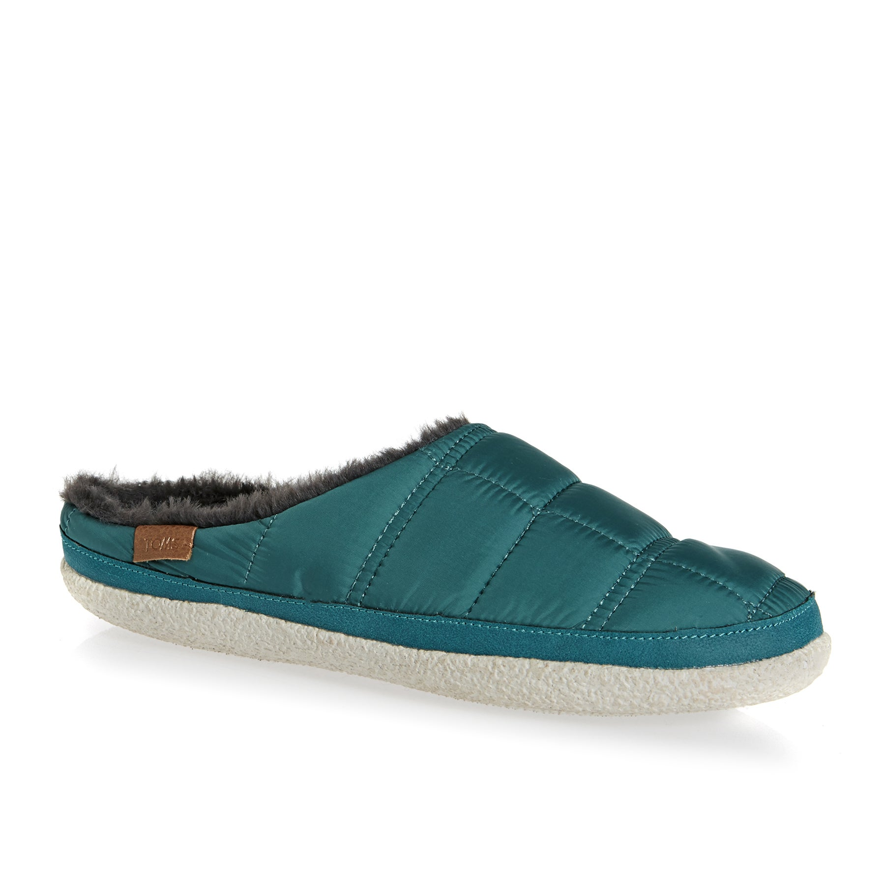 Toms Ivy Womens Slippers - Stellar Blue Quilted