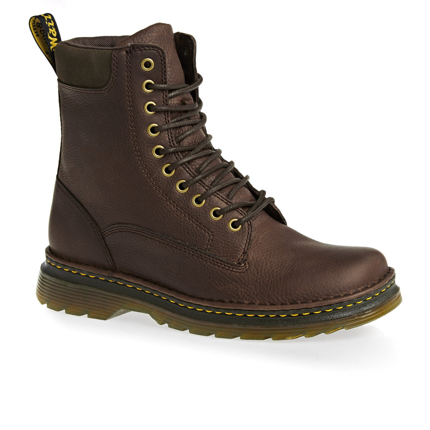 Bottes Dr Martens Vincent - Dark Brown Grizzly