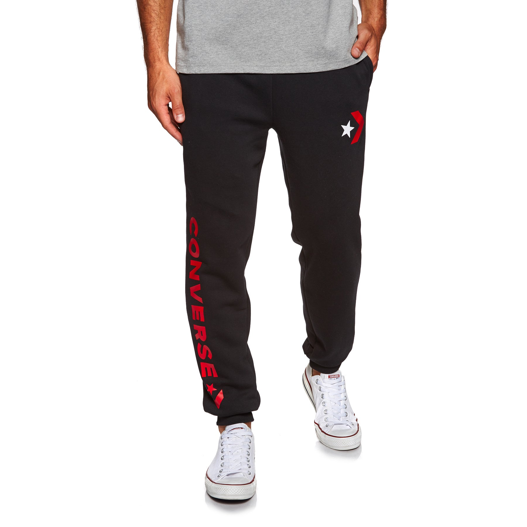 dea89ba6ee55 Converse Mens Star Chevron Graphic Jogging Pants available from Surfdome