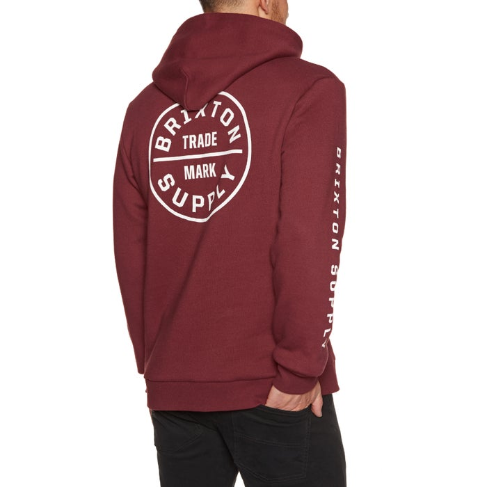 474dfa4743 Brixton Oath II Pullover Hoody available from Surfdome