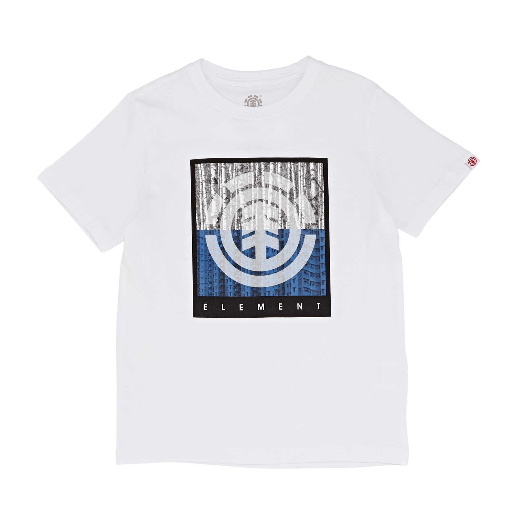 T-Shirt a Manica Corta Element Density - Optic White