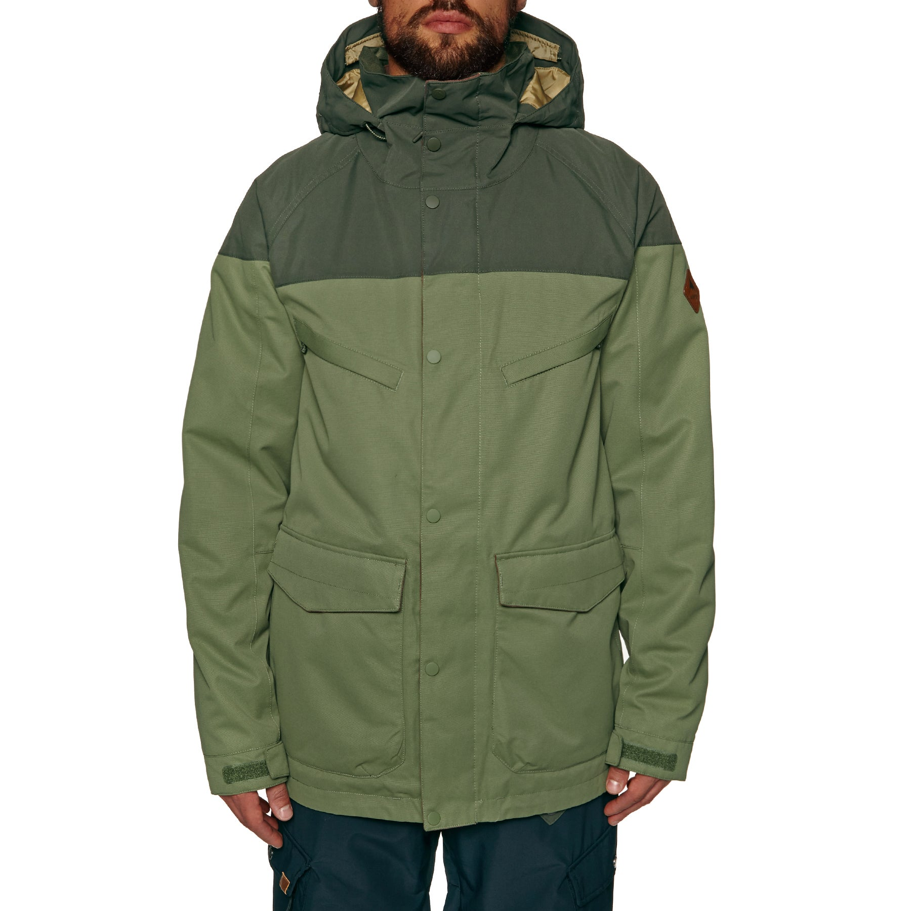 Burton Breach Snow Jacket Available From Surfdome