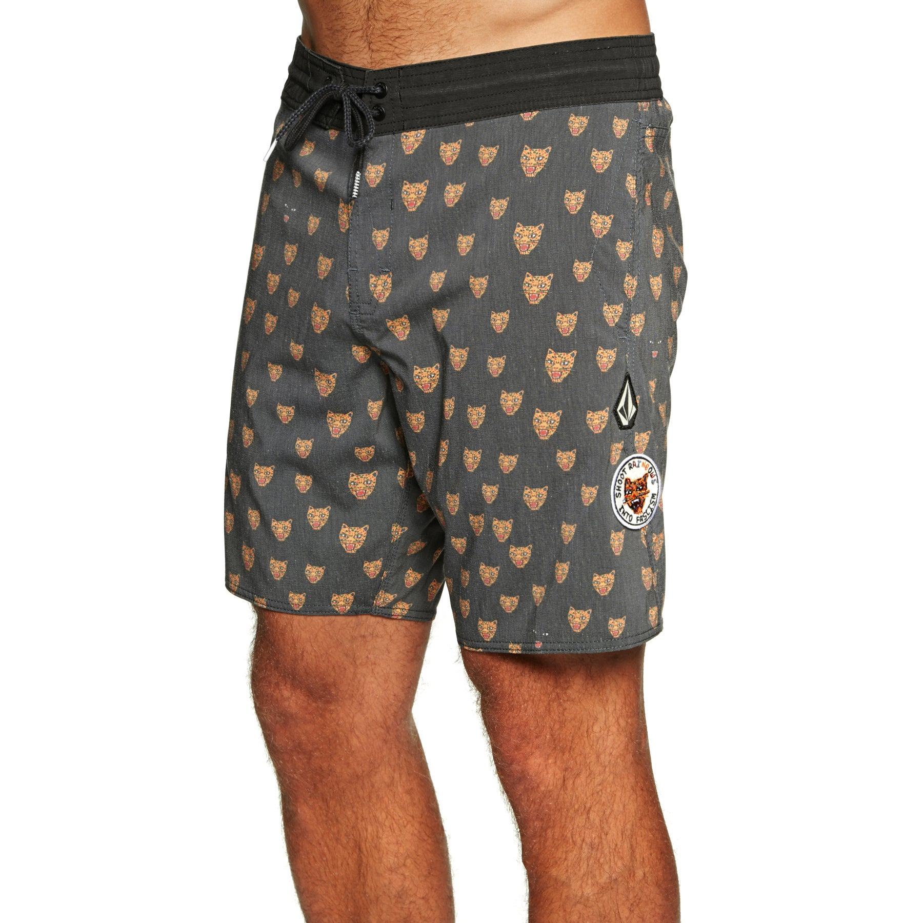 Boardshort Volcom Ozzie Volley 17 inch - Black