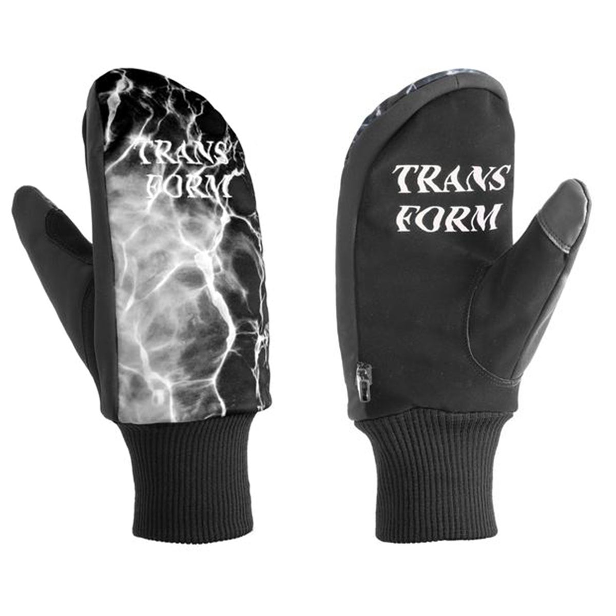 Transform The Marbelous Mitt Snow Gloves - Vader Black