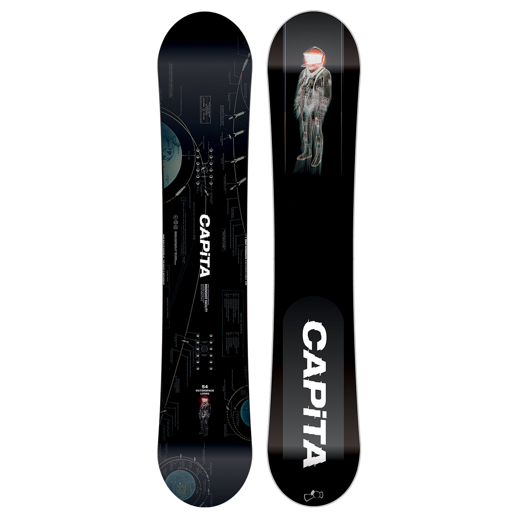 Snowboard Capita Outerspace Living - Multicoloured